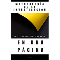 Metodología de la Investigación en una Página