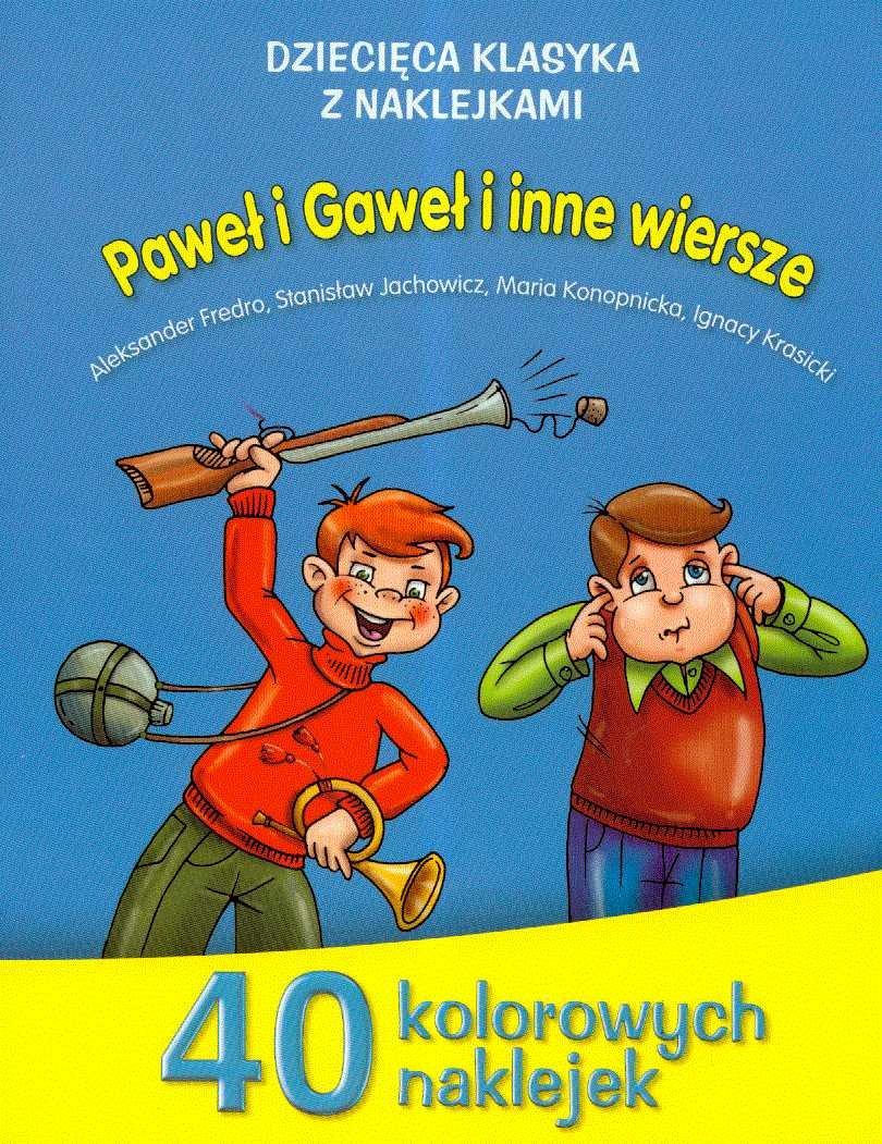 Pawel I Gawel I Inne Wiersze Amazoncouk Aleksander