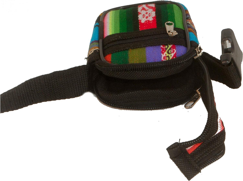 Small Compact Digital Camera Case /& Strap in Traditional Peruvian Aguayo Textile