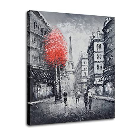 Raybre Art® 50 x 60cm 100% Dipinto a Mano Coltelli - Quadri su Tela ...