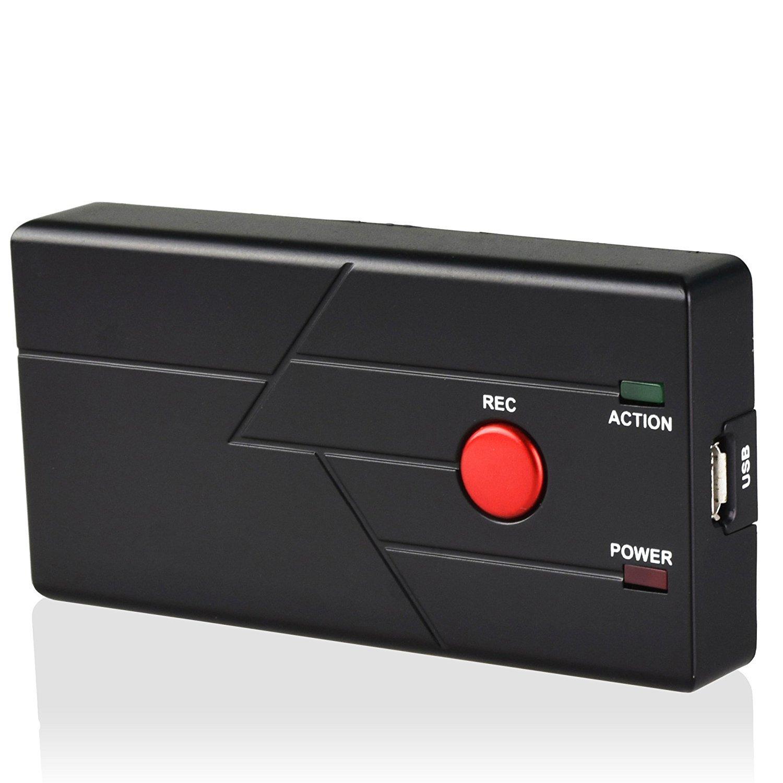 DigitNow Easy Buttonビデオレコーダー、TFカード付き、VHS、VCD、DVD、VCR、DV、カメラからのビデオを直接キャプチャし、TFカードスタンドアロン録画に簡単に保存 B01HGW30LK