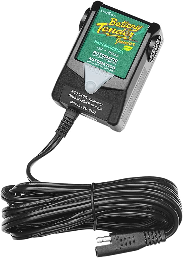BATTERY TENDER Automatic Junior Battery Charger 750Ma 12V