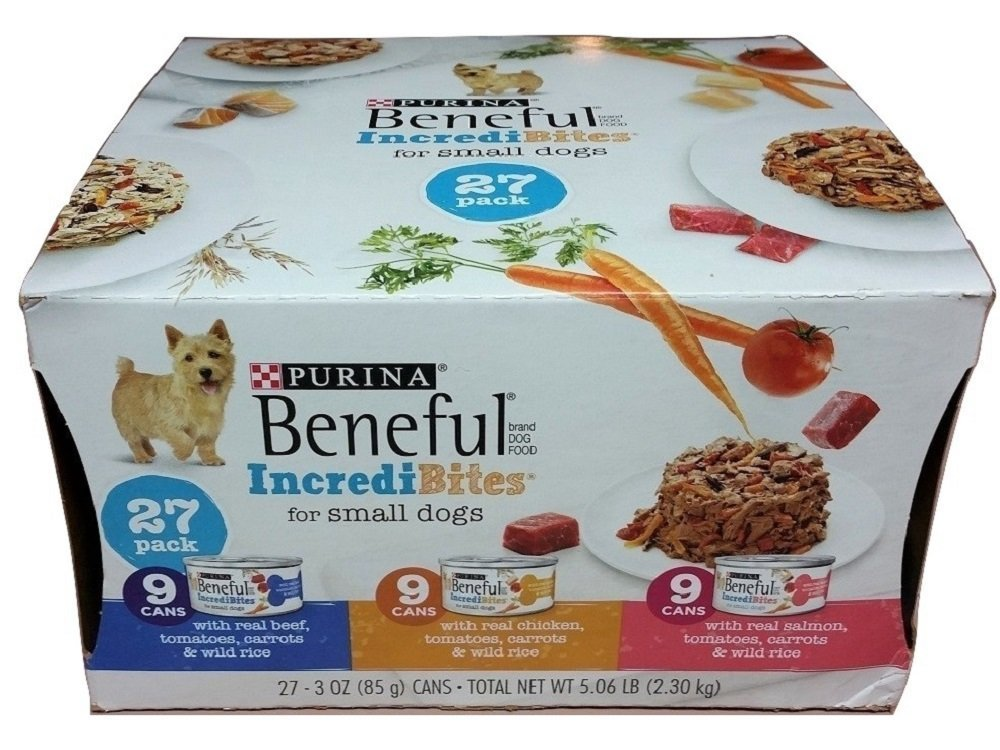 Purina Beneful Incredibites Variety Pack Dog Food 27-3 oz. Cans (3 Pack)