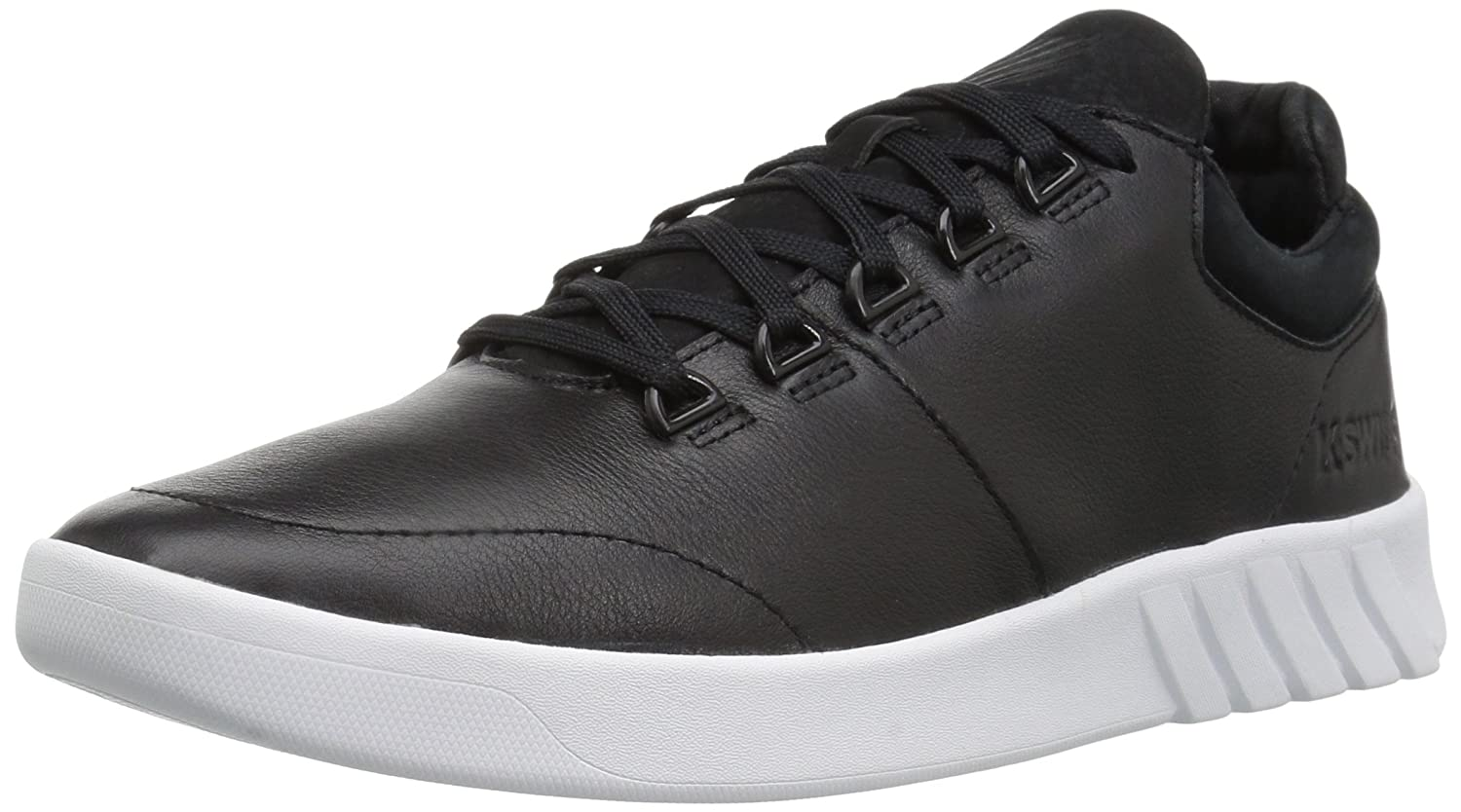 K-Swiss Women's Aero Trainer Sneaker B01MRBSWK8 7.5 B(M) US|Black/White