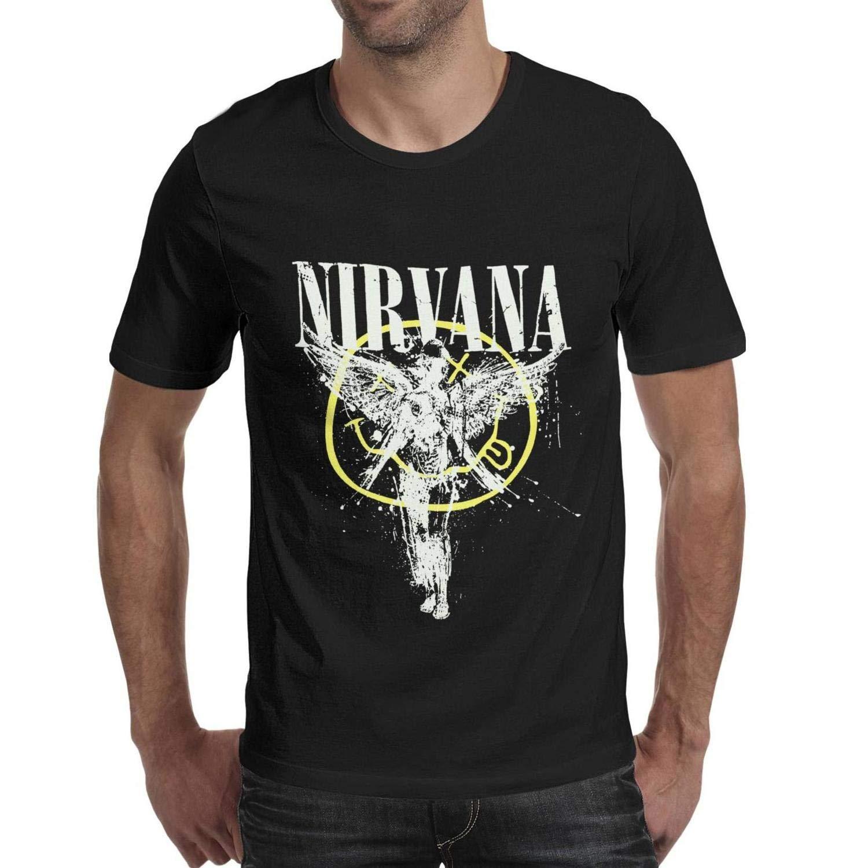 Lijinya Man Nirvanacoolpop T Shirt Printing Tee T Shirts