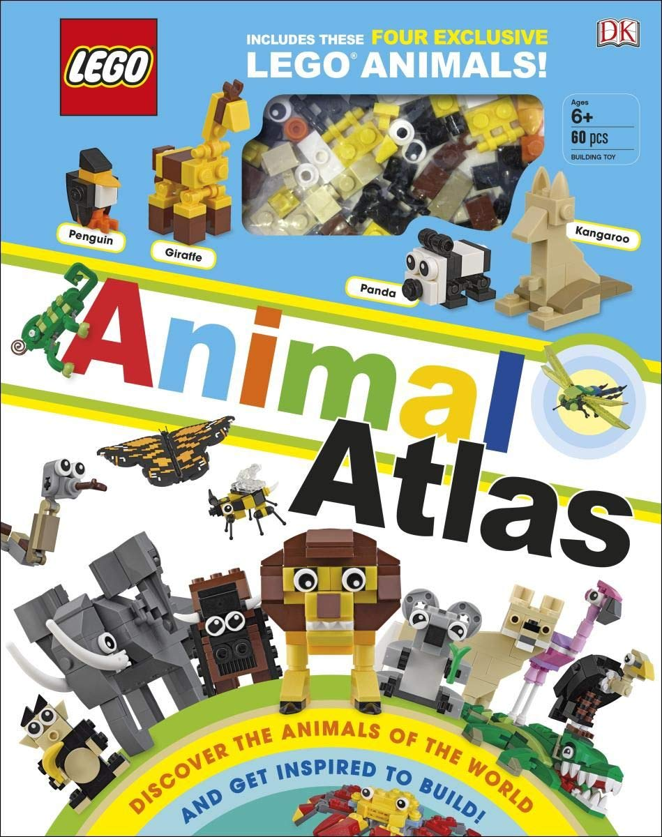 LEGO Animal Atlas  With Four Exclusive Animal Models