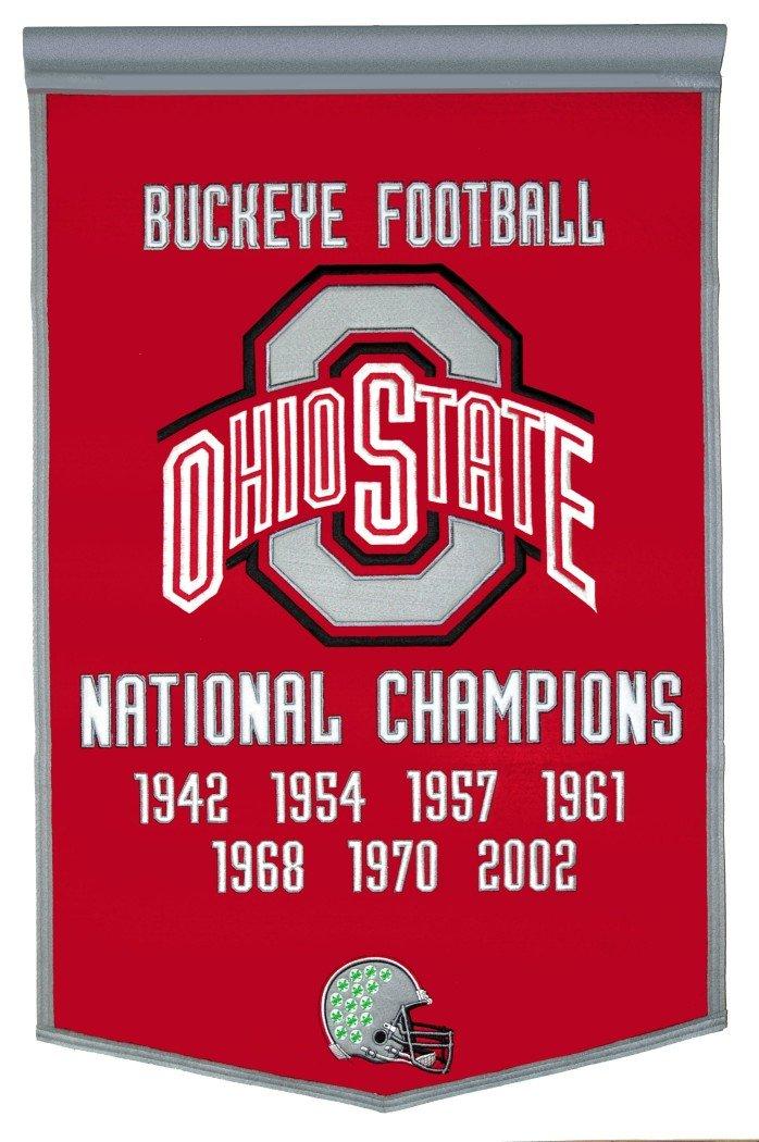 NCAA Ohio State Buckeyesウール王朝バナー B000RUTIWE