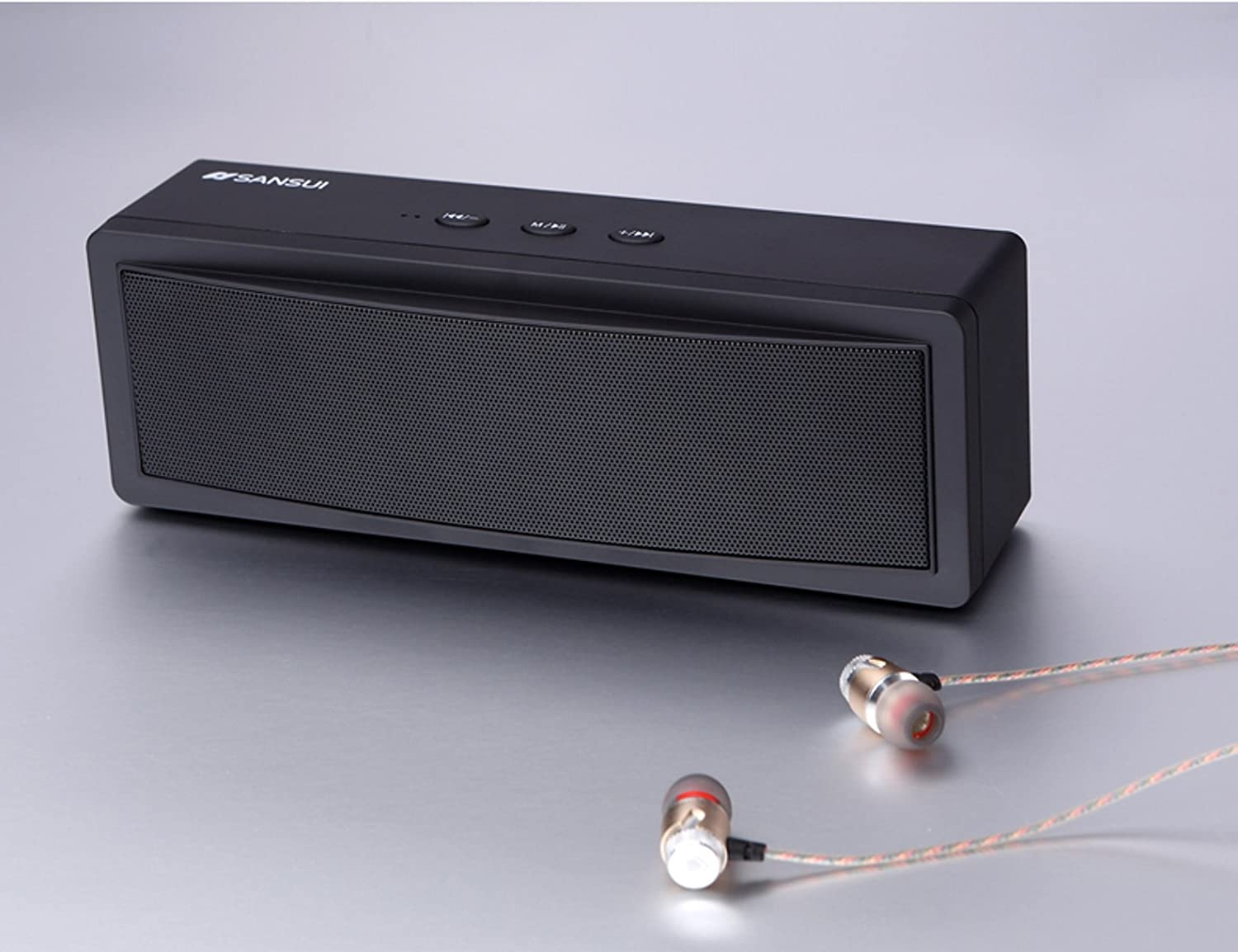 Portable Mobile Wireless Bluetooth Speaker Black 2x5w Stereo Audio Amplifier Based Ta7227 Circuit Diagram Home Theater