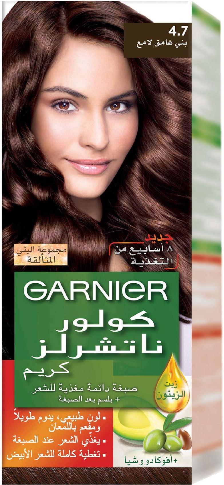 Garnier Color Naturals 4 7 Shiny Dark Brown Haircolor Sparkle Browns Shade Price In Uae Amazon Uae Kanbkam