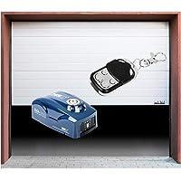 TiooDre 1 Pieza del bot/Â/¨n de control remoto 868 MHz para puerta de garaje con bater/Â/¨/Â/ªa y Cadena