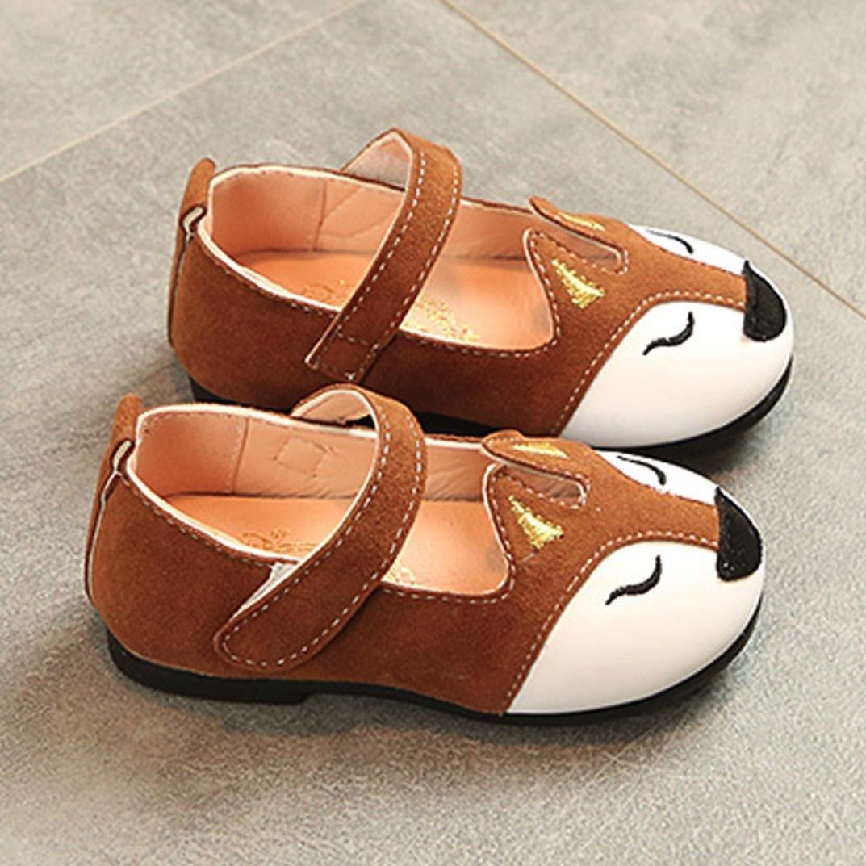 erthome Baby Schuhe Mode Kleinkind Kinder Fuchs Ballerina Prinzessin Casual Flache Schuhe