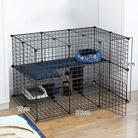 Aa Gwcwwwl Comfortable Ferret Cage Small Animals Hutch