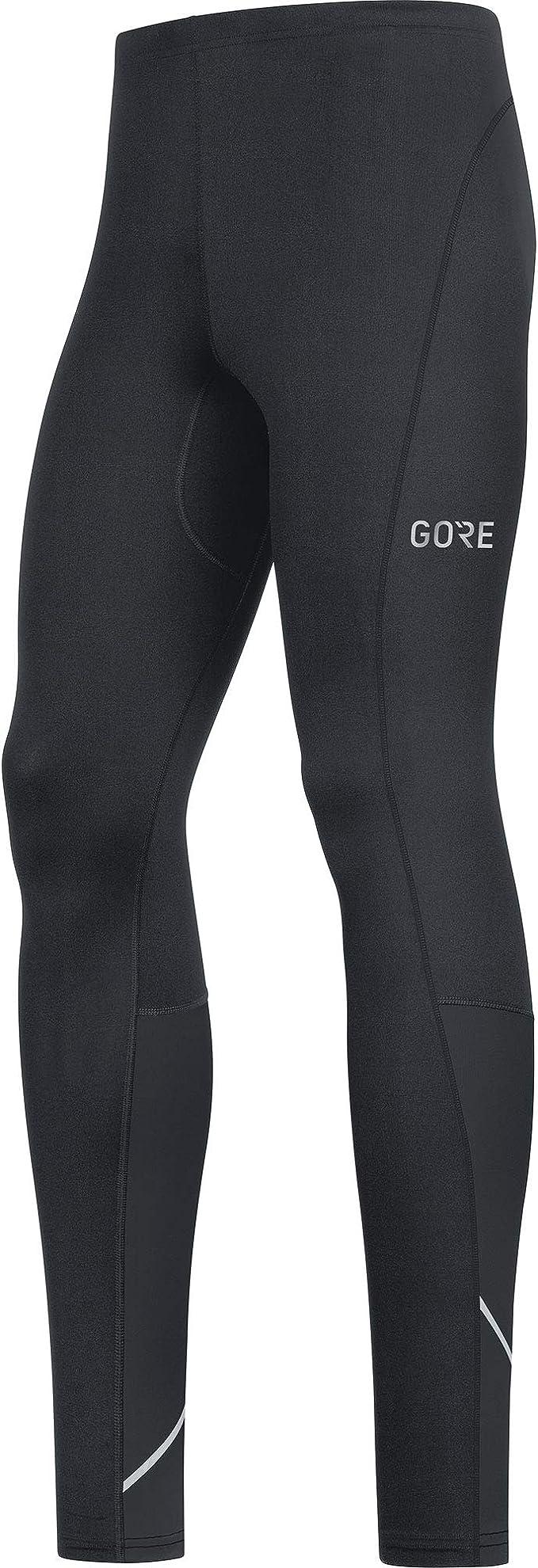 M Nero//Giallo neon GORE Wear R3 Legging a 3//4 da uomo