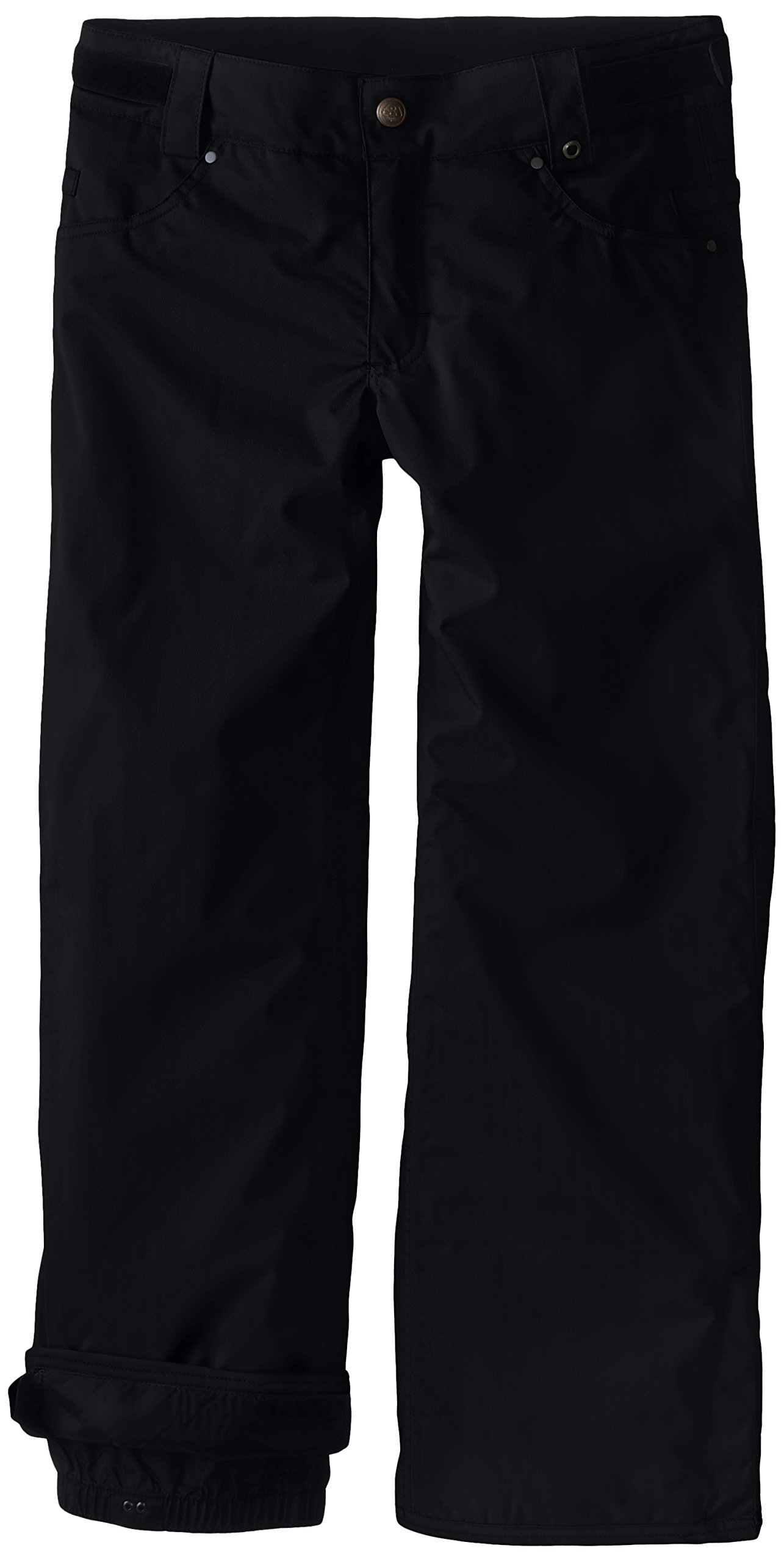 686 Boy's Prospect Insulated Pant, Small, Black Herringbone by 686