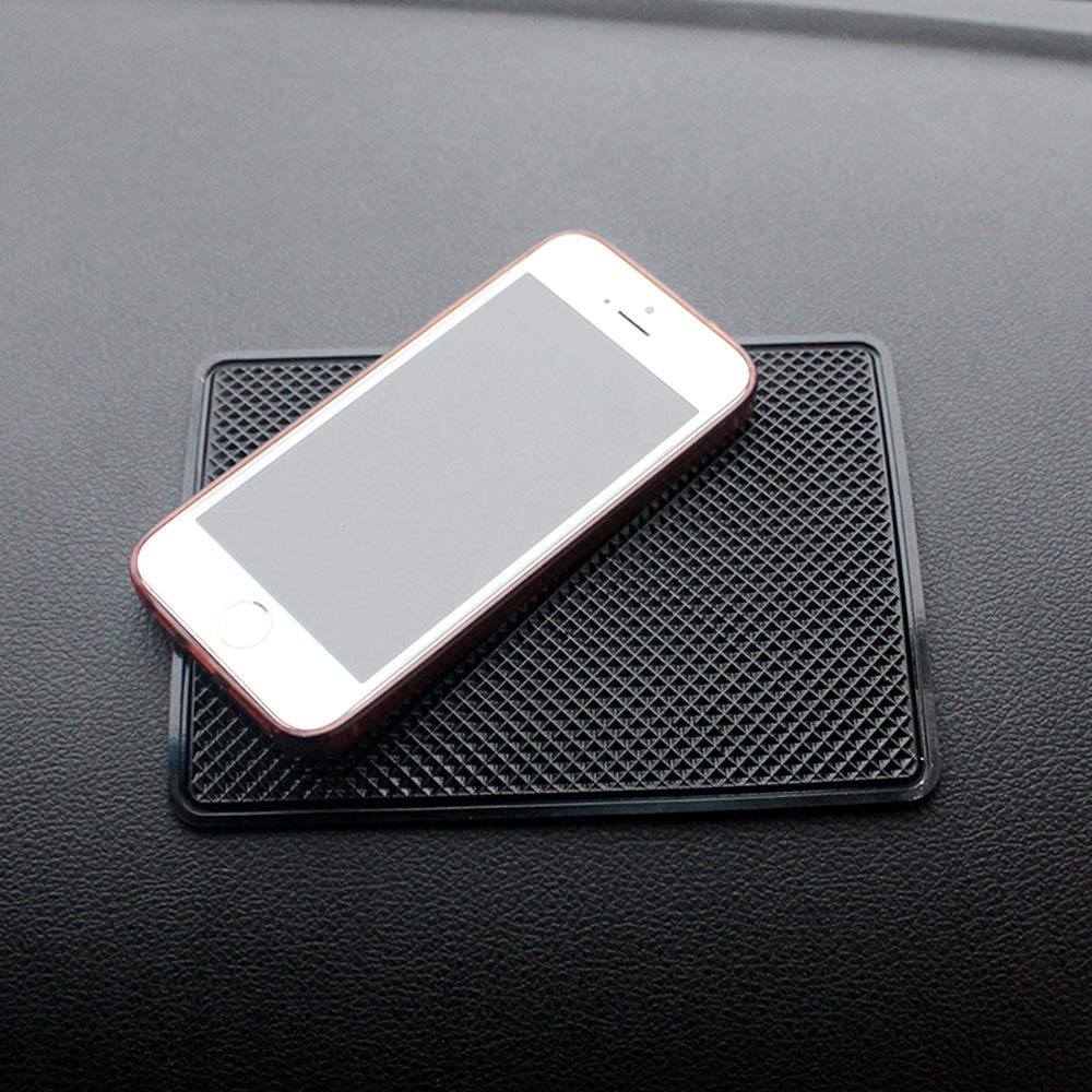 Coins Glasses 15 x 11 cm Keys cheap4uk Car Dash Non-slip Mat Anti-slip Sticky Silicone Dashboard Pads for Mobile Phones Cards