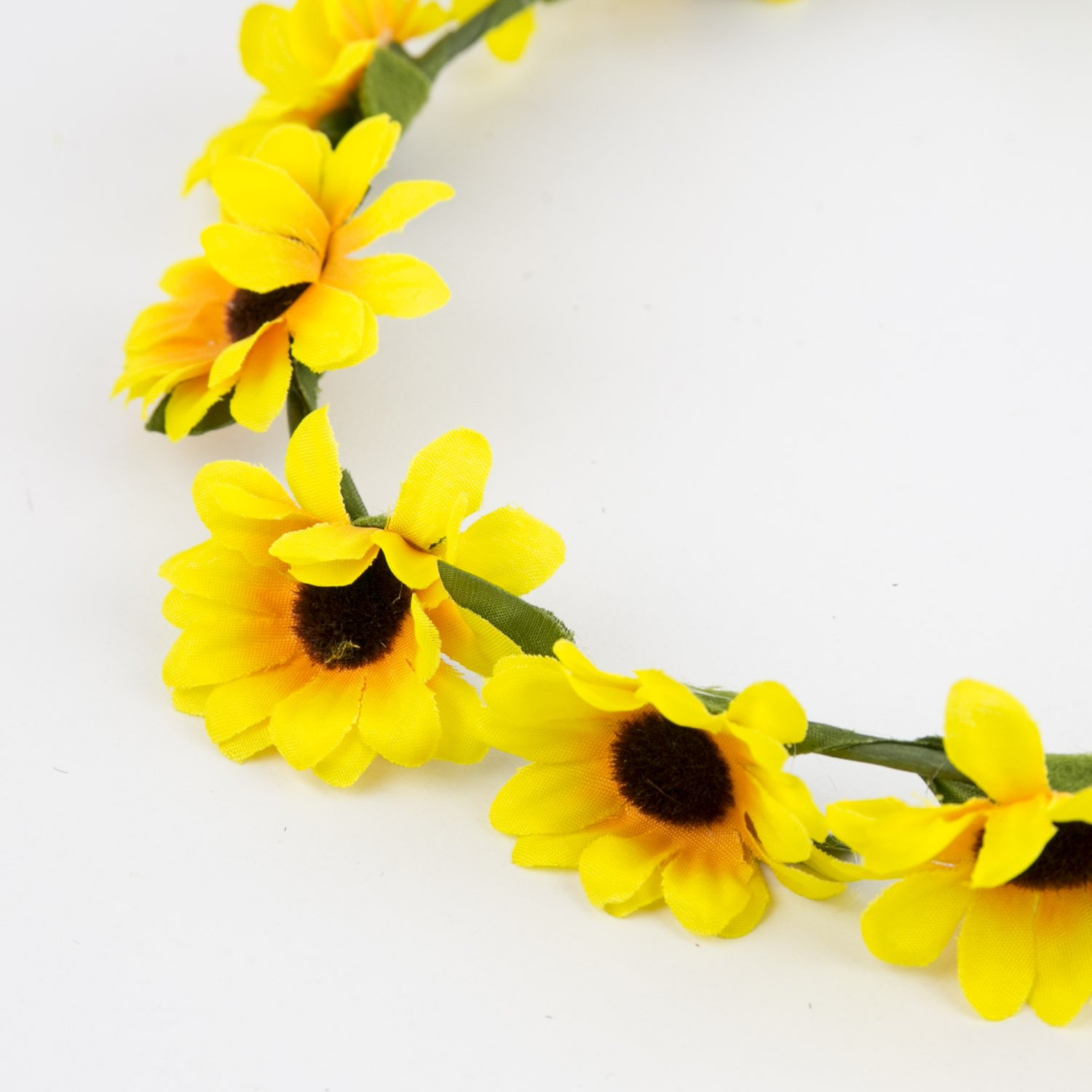 Amazon lux accessories sunflower floral flower yellow head hair amazon lux accessories sunflower floral flower yellow head hair crown lux accessories jewelry mightylinksfo
