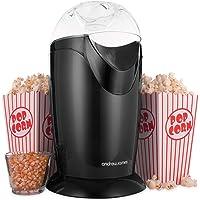 Andrew James Classic Popcorn Maker Machine | 8 Retro Style Popcorn Boxes | Makes Delicious Low Fat Snacks | 1200W