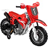 Best Ride on Cars Honda CRF250R Dirt Bike 6V 185 Kids Riding Car