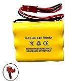 (5 Pack) CUSTOM-93 NNYXSB LPX70RWH 3.6V 700MAH Exit Sign Emergency Light NiCad Battery Replacement SL 026148 SL 026-148 3.6v 600mah NIC0553 ANIC0553 Custom-93