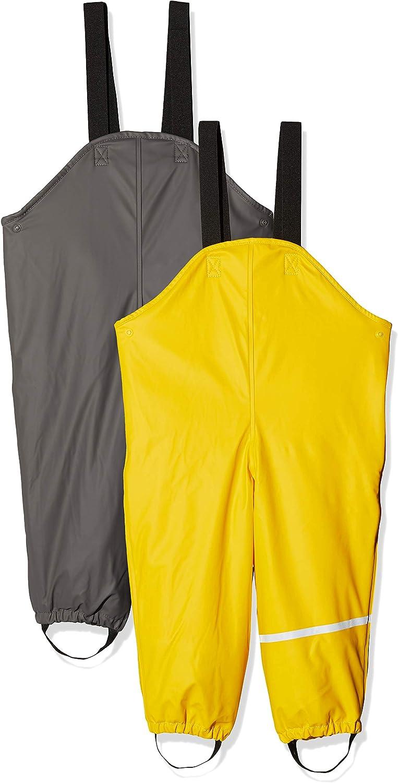 Yellow Printed 6 Years CareTec 4001 Rain Trousers Yellow