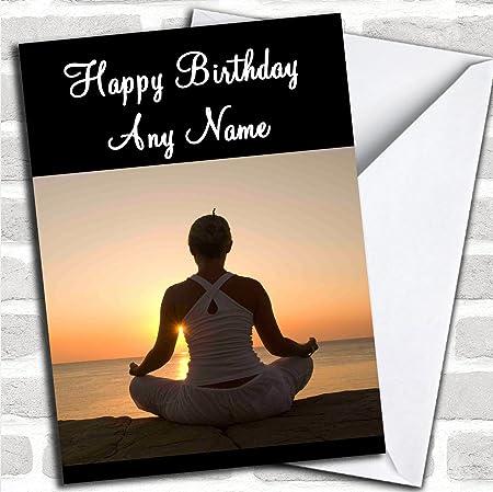 Yoga Individuell Gluckwunsche Zum Geburtstag Geburtstag Karten