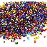 Preciosa Beads Unlimited – Mezcla de Cristal Mezcla rocalla/Semillas – Pack de 100 G