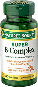 Nature's Bounty Super B-Complex - Best Vitamin B Complex Tablets