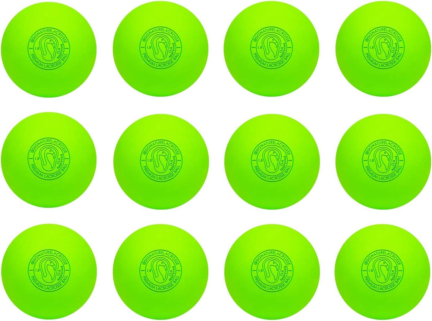 Signature Balles de Crosse–de Nombreuses Couleurs et quantités–Entièrement Certifié Officiel Balles