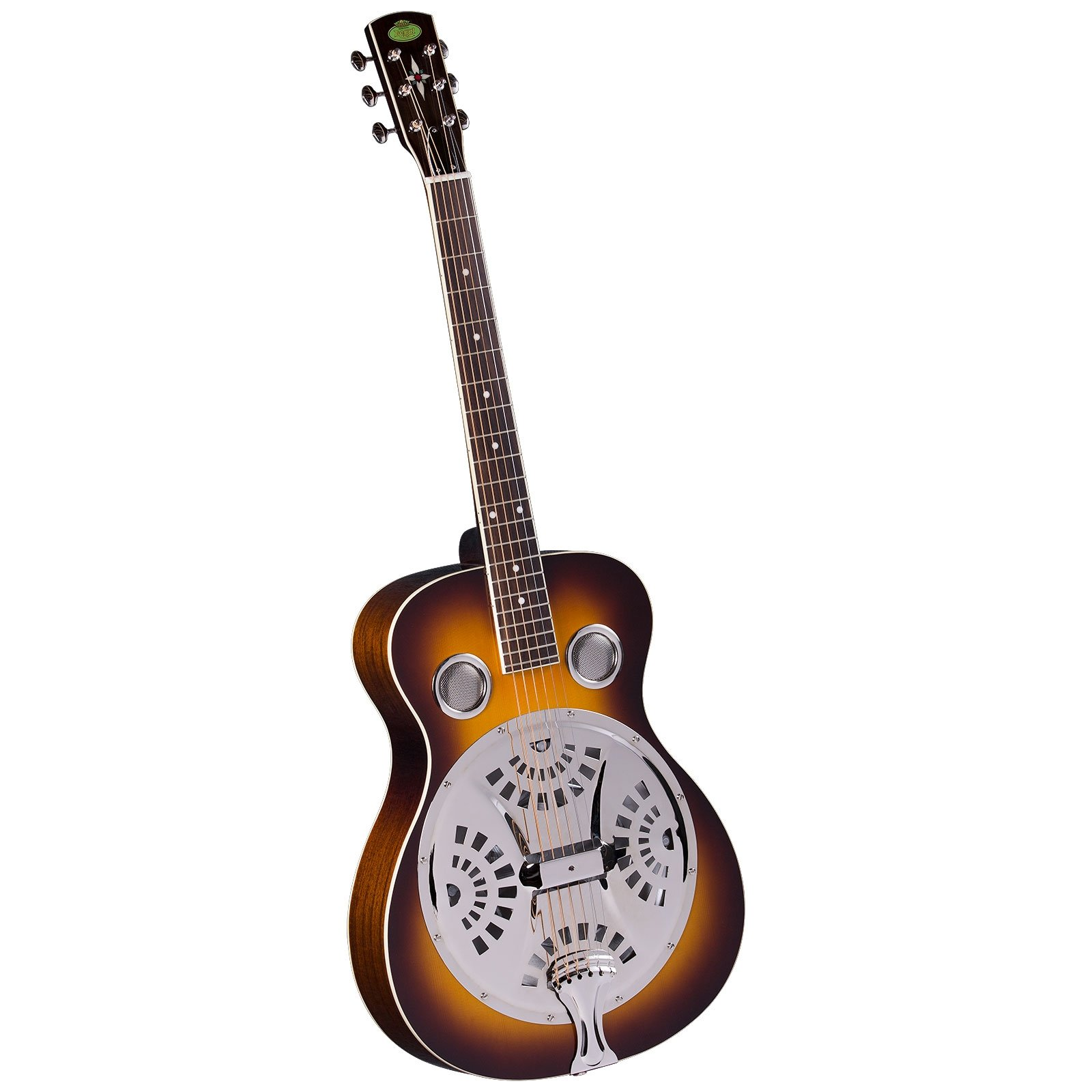 Regal RD-40V Studio Series Roundneck Resophonic Guitar - Vintage Sunburst by Regal Resophonic Guitars