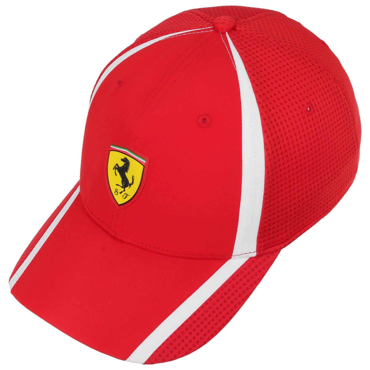 f6e2ca0db12 Puma Ferrari Men s Baseball Cap (21202 Rosso-Corsa Standard Size)   Amazon.in  Shoes   Handbags