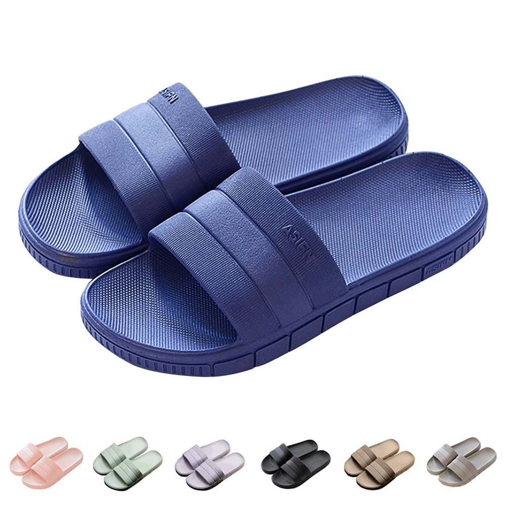 INFLATION Bath Slipper UnisexNon-Slip Open Toe Women Men Shower Sandals Indoor Anti-Slip Home Slippers by INFLATION (Image #2)