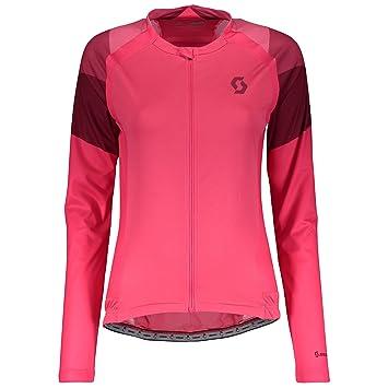 Sporting Goods Pink Scott Endurance As Long Sleeve Womens Cycling Jersey Activewear