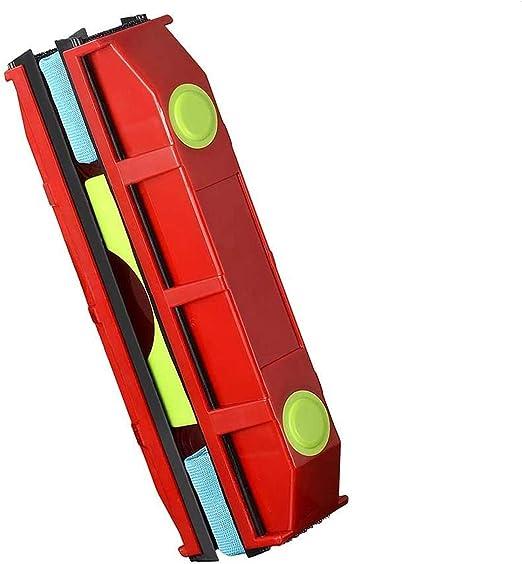 Nettoyage du Verre magn/étique dessuie-Glace Surface Outil pour Grande Hauteur fen/êtres /à Double vitrage avec Une /épaisseur de 4-25Mm Jwkcm Nettoyant pour vitres /à Double Face