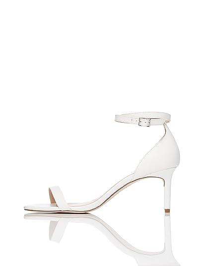 e56e8e99f812 FIND Sandales à Talons Bride Cheville Femme  Amazon.fr  Chaussures et Sacs