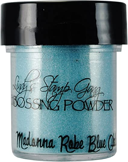 2 Ounces Blue Embossing Powder
