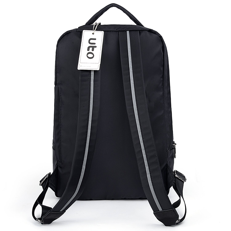 UTO Fashion Nylon Backpack Functional School Gym Sport Hiking Bag 3M Reflective Straps by UTO (Image #9)
