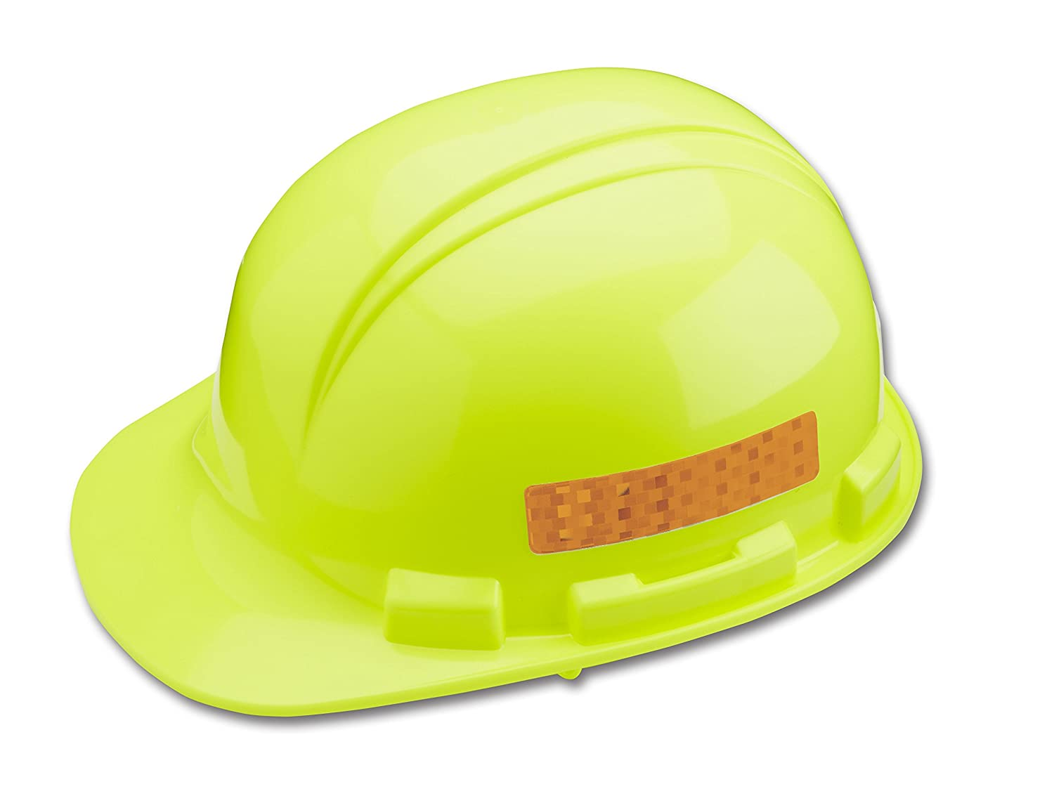 One Size Dynamic Safety HP1X4ORG Orange Dyna-Brite Stick On Reflective Strips for Hard Hat