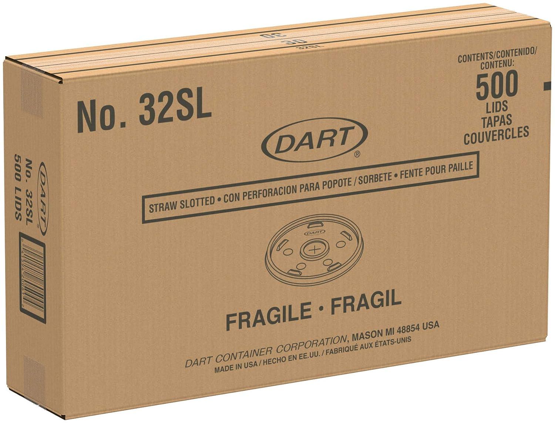 Amazon.com: Dart 32SL - Tapas de plástico con ranura ...