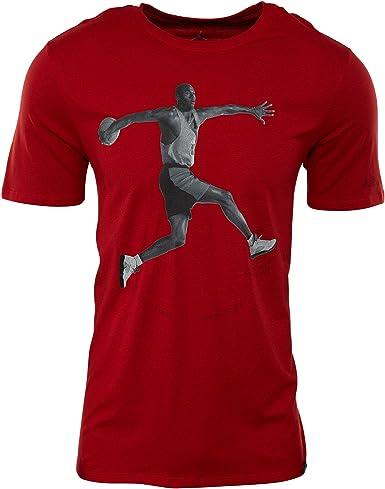 NIKE AJ 5 tee Camiseta de Manga Corta Jordan de Baloncesto, Hombre: Amazon.es: Ropa y accesorios