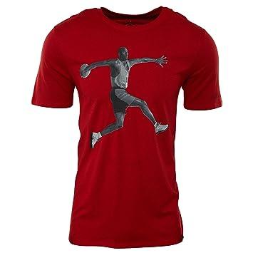 Nike AJ 5 Camiseta de Manga Corta Jordan de Baloncesto, Hombre ...