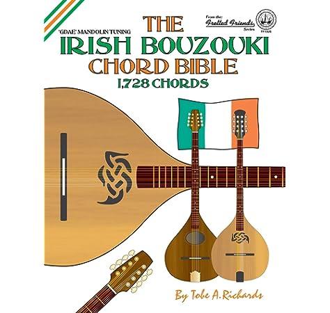 The Irish Bouzouki Chord Bible: GDAD Irish Tuning 2,520 Chords ...