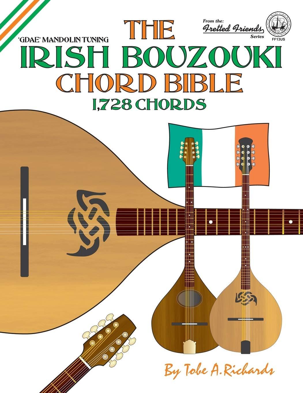 The Irish Bouzouki Chord Bible: GDAE Mandolin Style Tuning 1,728 ...