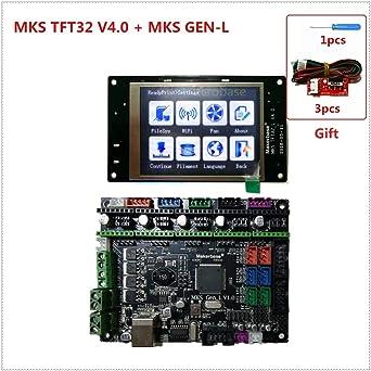Amazon.com: MKS GEN L V1.0 +MKS TFT32 V4.0 pantalla táctil ...