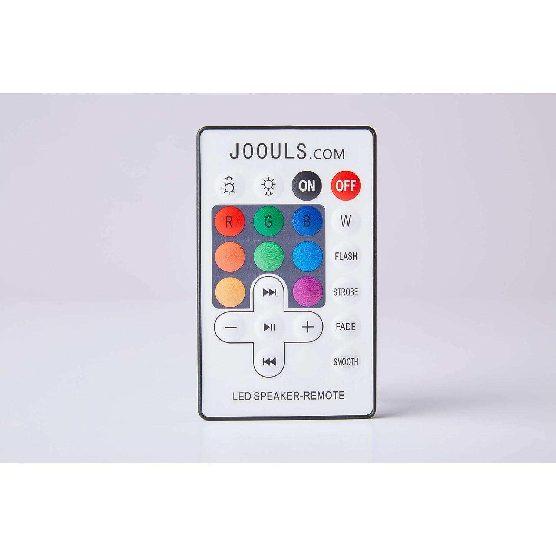 lampada cambiacolore Bluetooth altoparlante per bevande refrigeratore con batteria 8800 mAh Joouly Music 65 non accoppiabile
