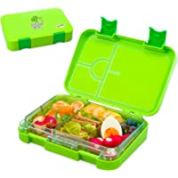 Snack Attack Bento Box or Lunch Box for Kids 4 & 6 Conertible Compartments | Portion Lunch Box | Food Graded Materials…