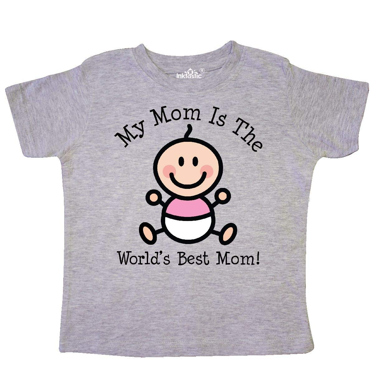 inktastic Baby Girl 1st Mothers Day Toddler T-Shirt