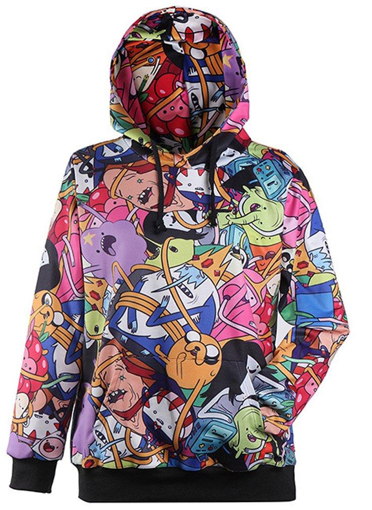 Thenice Neutral Long Sleeve Hoodies Sweatshirts (Character)