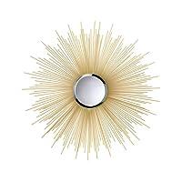 "Smart Living Company Home Décor Golden Rays Mirror, 7 7/8"" Dia"
