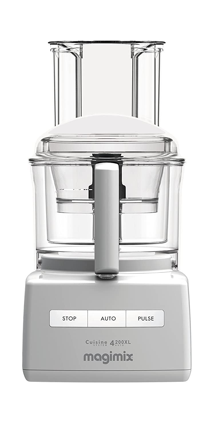 Magimix 14-Cup Food Processor by Robot Coupe 4200 XL (14 Cup, White)