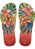 Women Havaianas Flip Flops Slim Tropical